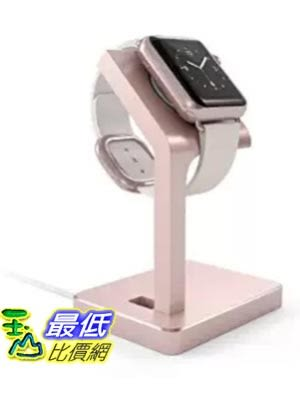 [美國直購] Satechi B01B58QFP4 玫瑰金 手錶充電座 Aluminum Charging Dock Apple Watch Charging Stand Station