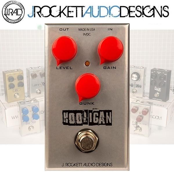 【非凡樂器】J.RAD Hooligan Fuzz破音效果器 / J.Rockett美國手工製 / 贈導線 公司貨保固