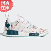 【現貨】ADIDAS NMD_R1 女鞋 慢跑 休閒 BOOST 透氣 夏季圖案 白【運動世界】GX5372
