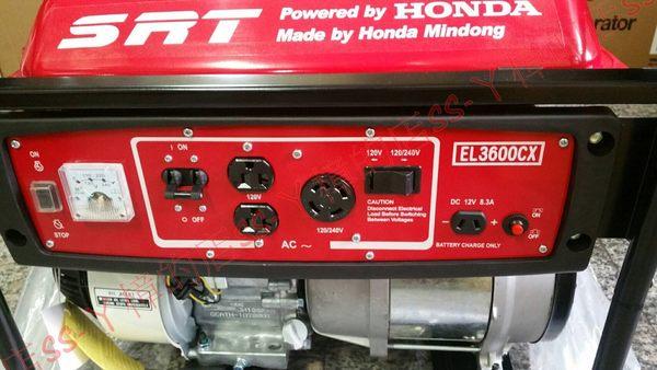 HONDA本田 閩東 3600w 3600瓦 發電機 EL3600CX *全球新款綠色環保發電機