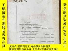 二手書博民逛書店Minnesota罕見LAW REVIEW Vol.73 No.3Y4615 University of Mi