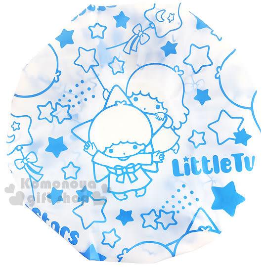 〔小禮堂〕雙子星 浴帽《藍.星星.氣球》 4712977-46263