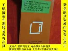 二手書博民逛書店Teacher罕見Qualifications and Quality of In... (小16開) 【詳見圖】