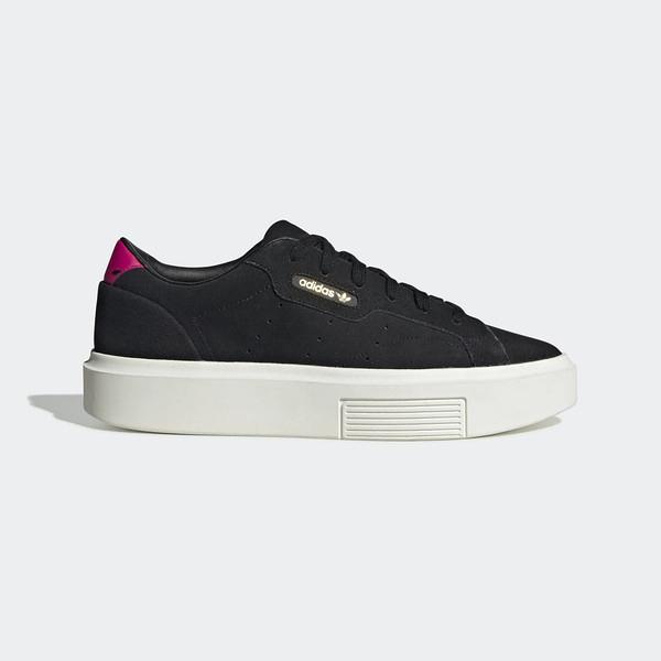 Adidas Original Sleek Super W [EF8854] 女鞋 運動 休閒 復古 穿搭 愛迪達 黑白