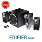 EDIFIER 漫步者 C2 2.1聲道電腦喇叭 無線遙控 木質結構 6.5英寸揚聲器 公司貨