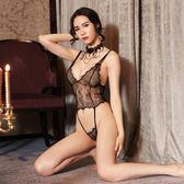 情趣內衣女性感蕾絲透明極度誘惑三點式夜店激情套裝sm騷透視制服【這店有好貨】