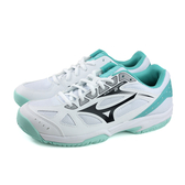 Mizuno CYCLONE SPEED 2 美津濃 排球鞋 運動鞋 白/綠 女鞋 N1GC198013 no075