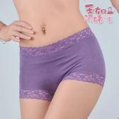 【玉如阿姨】花采絲棉內褲。大尺寸。中高腰。超舒適包臀。平口。台灣製。※K020