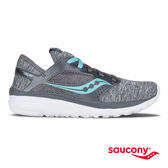 SAUCONY KINETA RELAY 運動休閒鞋-深灰x水藍