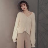 IN SHOP韓系慵懶三釦針織外套【KT28372】