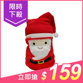 聖誕風法蘭絨雙面空調毯(1入) 聖誕老人款【小三美日】原價$199