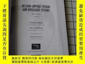 二手書博民逛書店Decision罕見Support Systems and In