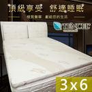天絲床墊 單人3尺 宿舍專用 學生床墊 頂級天絲舒柔布 三摺好收納 台灣製 可拆洗 高彈力透氣內墊