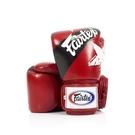 『VENUM旗艦館』8oz  Fairtex 健身房拳擊手套~重擊打沙袋拳套~真皮拳套 - 國旗星星款 紅色 BGV1