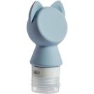 便攜貓頭硅膠分裝瓶