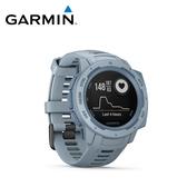 【GARMIN】Instinct 本我系列 GPS腕錶 海沫藍