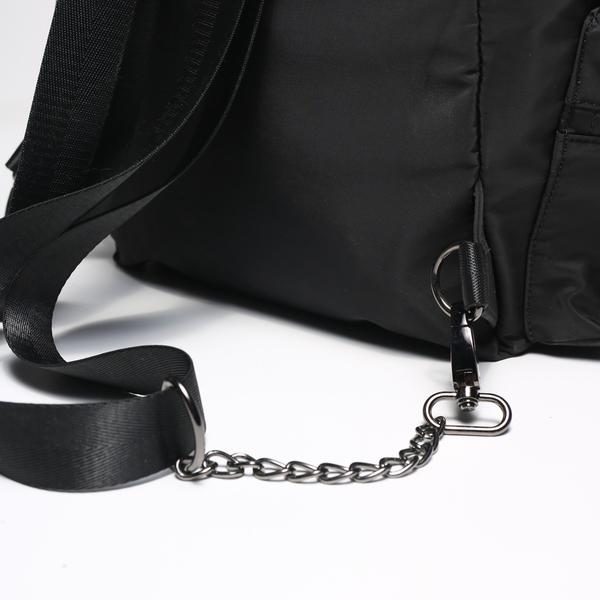 KANGOL 黑 抽繩 後背包 袋鼠 英國 女 (布魯克林 ) 6955320120