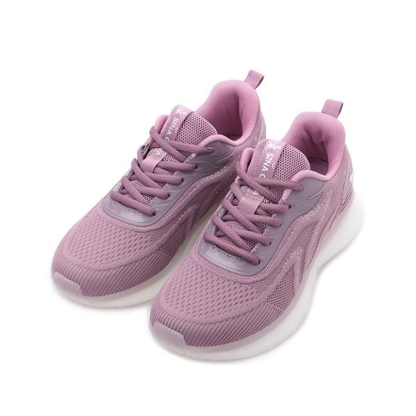 老船長 飛織休閒鞋 紫 23618 女鞋