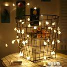led裝飾燈水晶球浪漫裝飾彩燈燈串陽台櫥...