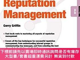 二手書博民逛書店預訂Reputation罕見Management - Marketing 04.05Y492923 Gerry