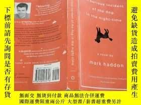 二手書博民逛書店the罕見curious incident of the dog in the night -time夜間狗的奇怪
