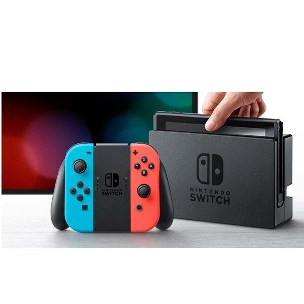 2019 任天堂 Nintendo Switch 電池加強版 藍紅手把組《台灣公司貨》目前缺貨,要3月中才會到貨