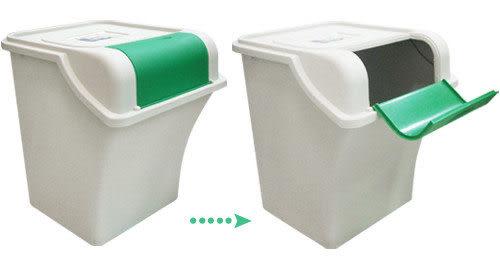 A05671   《資源回收》環保分類垃圾桶30L(2入/組)