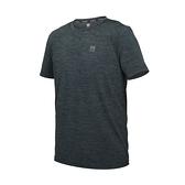 FIRESTAR 男彈性機能圓領短袖T恤(涼感 上衣 慢跑 路跑 運動 反光≡體院≡ D1731-18