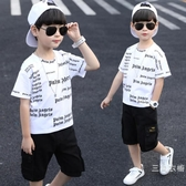 童裝男童短袖t恤2019夏裝新品韓版兒童夏季半袖上衣中童洋氣潮衣