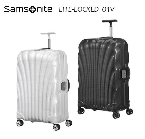 6折特價 Samosnite 新秀麗 Lite-locked FL 01V 28吋行李箱 新升級版雙軌輪 置衣隔板+送好禮