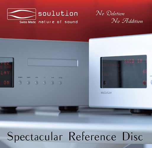 【停看聽音響唱片】【黑膠LP】Soulution:Spectacular Reference Disc