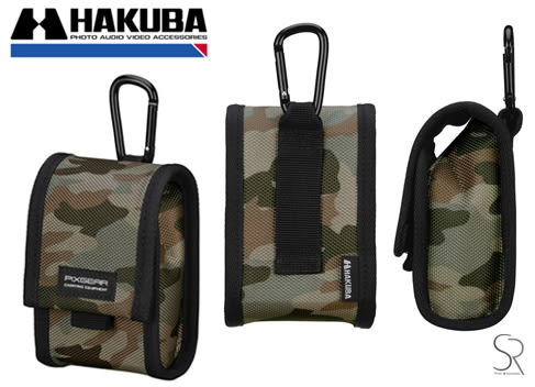 【聖影數位】HAKUBA PIXGEAR TOUGH03  CAMERA CASE M 相機套 HA290400黑 / HA290370迷彩
