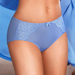 【黛安芬】-花漾輕塑包覆系列 B-E罩杯內衣(藍色海)