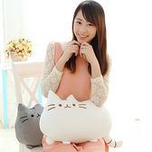 可愛貓咪喵星人公仔布娃娃玩偶沙發靠枕LVV2242【KIKIKOKO】