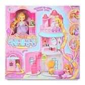 《 MIMI World 》迷你 MIMI 長髮公主城堡╭★ JOYBUS玩具百貨