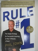 【書寶二手書T1/原文小說_D3J】Rule #1: The Simple Strategy for Succesful Investing in…