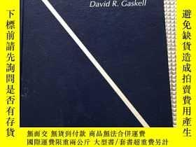 二手書博民逛書店英文原版:Introduction罕見to the Thermodynamics of Materials 材料熱