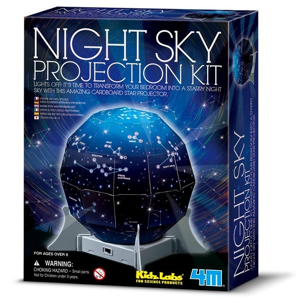 【4M】00-13233 科學探索系列 創意星空 Create A Night Sky Projection Kit