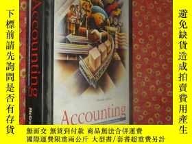 二手書博民逛書店Accounting,罕見the basis for busin