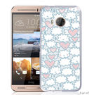 ✿ 3C膜露露 ✿【雲朵愛心*硬殼】HTC ONE ME手機殼 手機套 保護套 保護殼