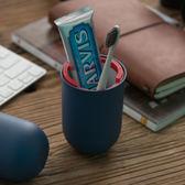 牙刷收納膠囊 旅行 收納 收納組【US000】牙刷 牙膏 刮鬍刀 梳子 便攜 隨行 露營 出差 居家