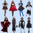 萬圣節服裝女成人cos服性感吸血鬼恐怖衣服恐怖大人女巫服海盜服 亞斯藍