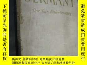 二手書博民逛書店Germany罕見- our fair native count
