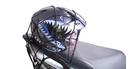 【SG324】加粗機車油箱網 油箱置物網袋 安全帽網套 重機 摩托車 機車 通用款