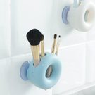 ♚MY COLOR♚ 吸壁式四孔牙刷架 浴室 壁掛 牙具 創意 情侶 吸盤 牙刷筒 牙刷【N333】