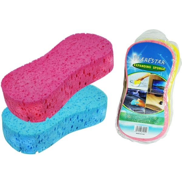 洗車海綿 壓縮海綿 打蠟海綿 蜂窩孔 8字型 海綿 洗車 清潔 汽車 車用 擦車 汽車美容 吸水