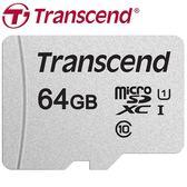 Transcend 創見 64GB 64G microSDXC TF U1 C10 300S 記憶卡