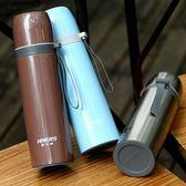 保溫杯304不銹鋼真空保溫杯男士商務水杯子女士便攜學生茶杯曼莎時尚