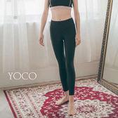 東京著衣【YOCO】美力女孩-服貼顯瘦彈力運動長褲瑜伽褲-S.M(180347)