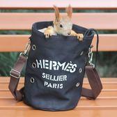 龍貓魔王雪地黃山金花松鼠外帶包蜜袋鼯小寵外出包外出用品 時尚教主
